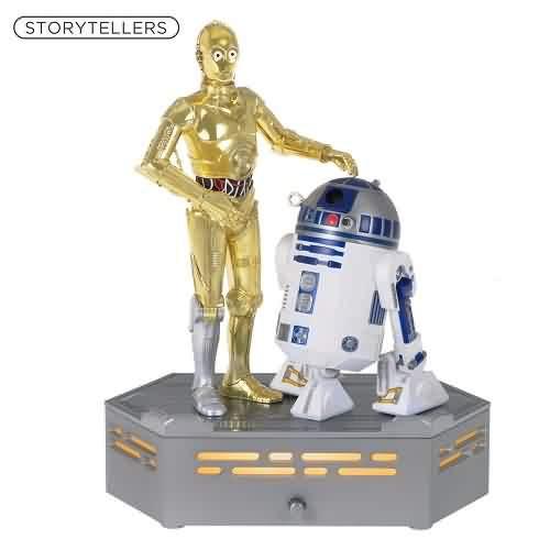2021 Star Wars Storyteller - C-3PO And R2-D2 - A New Hope Hallmark ornament (QXI7335)