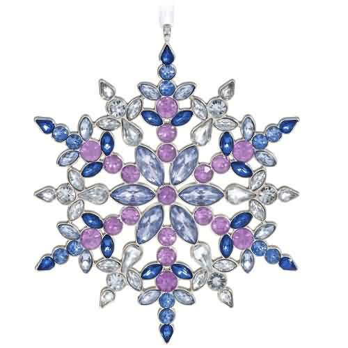 2021 Stunning Snowflake Hallmark ornament (QK2052)