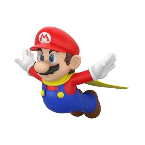 2021 Super Mario - Caped Mario Hallmark ornament (QXI7422)