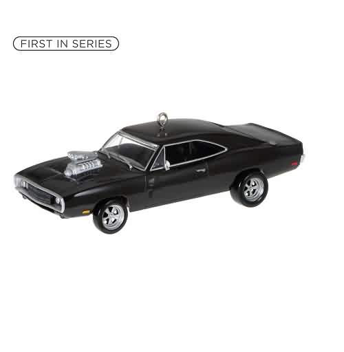 2021 The Cars the Star #1 - 70 Dodge Charger Fast and  Furious Hallmark ornament (QXR9255)
