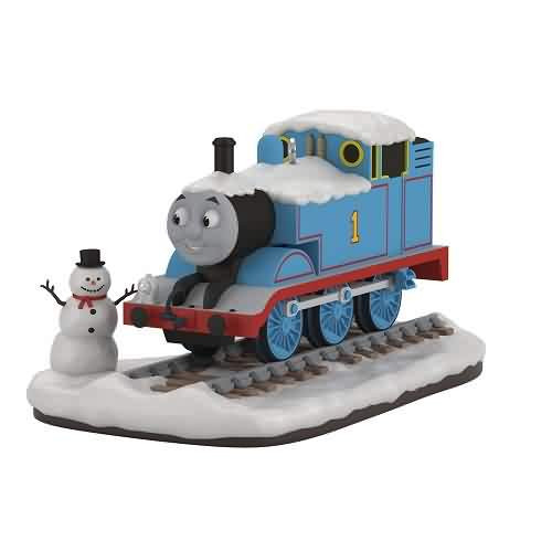 2021 Thomas the Train - Snow Buddies Hallmark ornament (QXI7235)