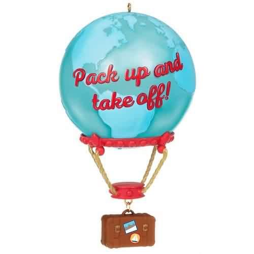 2021 Up And Away Hallmark ornament (QGO2365)