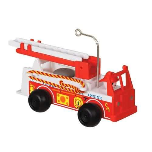 2021 Vintage Fire Engine Fisher Price Hallmark ornament (QXI7262)