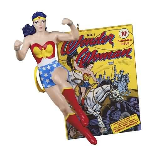 2021 Wonder Woman - 80th Anniv Hallmark ornament (QXI7072)