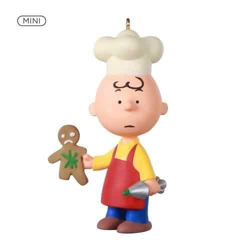 2021 Baker Charlie Brown Hallmark ornament (QXM8295)
