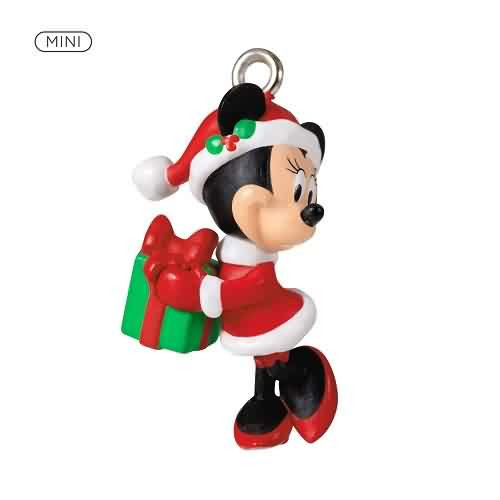 2021 Disney Merry Lil Minnie Hallmark ornament (QXM8215)