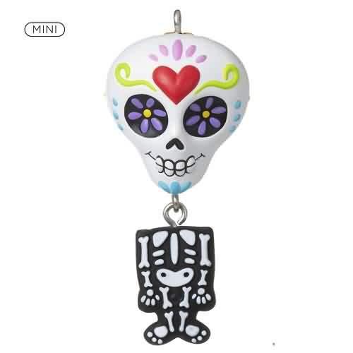 2021 Halloween - Sugar Skull Sweetie Hallmark ornament (QFO5292)