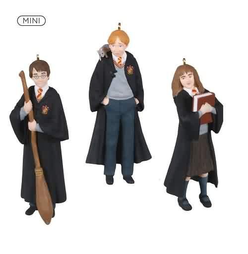 2021 Harry Potter - The Trio Hallmark ornament (QXM8232)