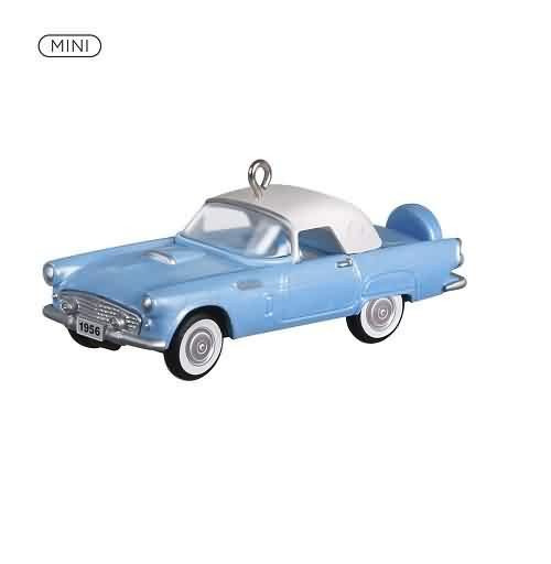 2021 Lil Classic Cars #4 - 1956 Ford Thunderbird Hallmark ornament (QXM8282)