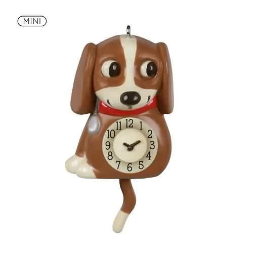 2021 Lil Puppy Clock Hallmark ornament (QXM8362)