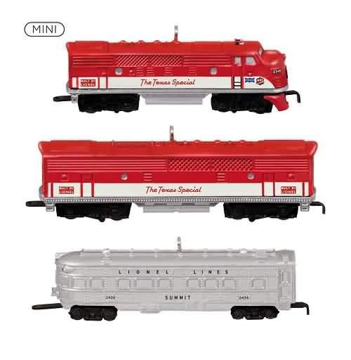 2021 Lionel 1520W Texas Special Passenger Set Hallmark ornament (QXM8285)