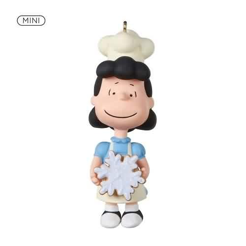 2021 Peanuts - Baker Lucy - Mini Hallmark ornament (QXM8302)
