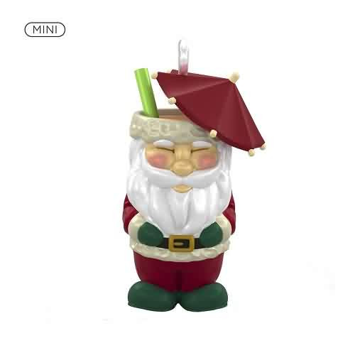 2021 Santa Tiki Hallmark ornament (QXM8352)