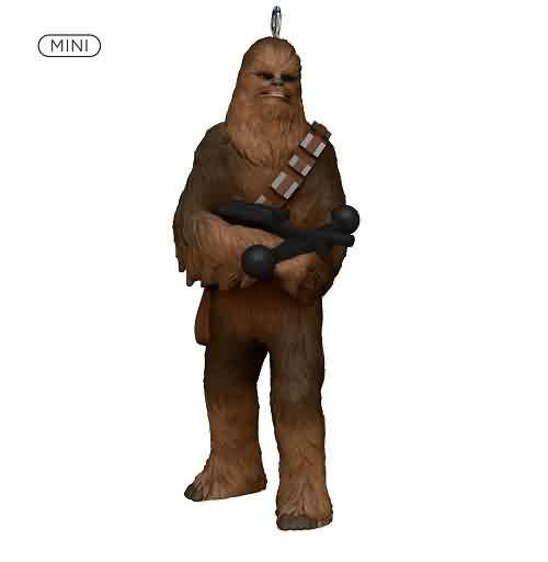 2021 Star Wars - Chewbacca - Miniature Hallmark ornament (QXM8405)