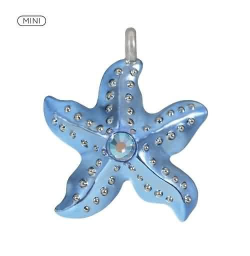 2021 Sweet Lil Starfish Hallmark ornament (QXM8382)