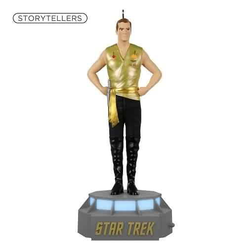 2021 Star Trek Storyteller - Captain James T. Kirk Hallmark ornament (QXI6061)