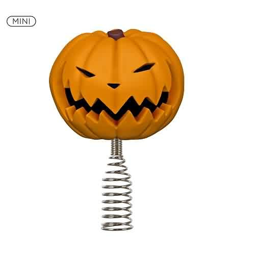 2021 Nightmare Before Christmas - Pumpkin King Tree Topper Hallmark ornament (QSB6321)