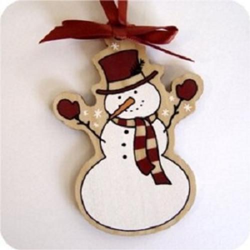 2004 Mayors Tree Ornament - Snowman