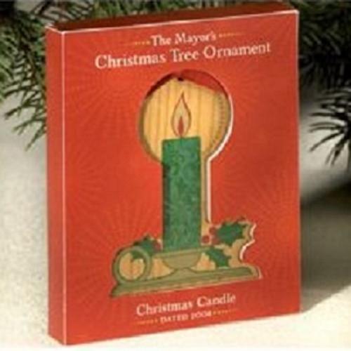 2008 Mayors Tree Ornament - Candle (MAYOR08)