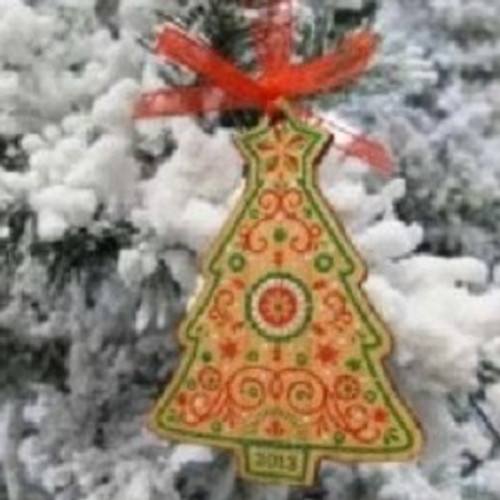 2013 Mayors Tree Ornament - Christmas Tree (MAYOR13)