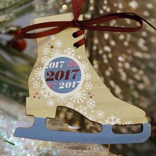 2017 Mayors Tree Ornament - Skate Away (MAYOR17)