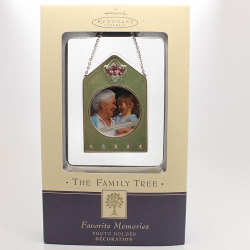 2004 Family Tree - Favorite Memories