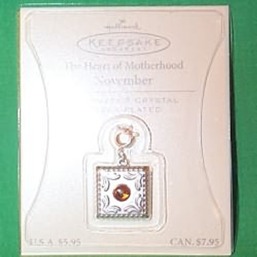 2003 Heart of Motherhood Charm - 11 November
