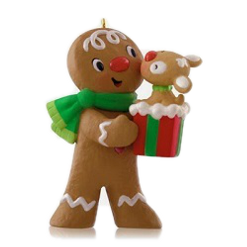 2014 Kiss for Kacey - Gingerbread Man - Limited