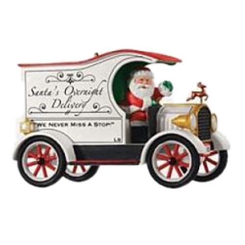2013 Here Comes Santa - Santas Overnight Delivery - Ltd