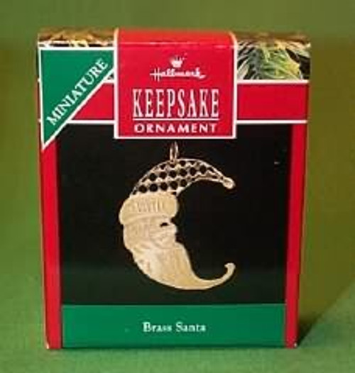 1990 Brass Santa