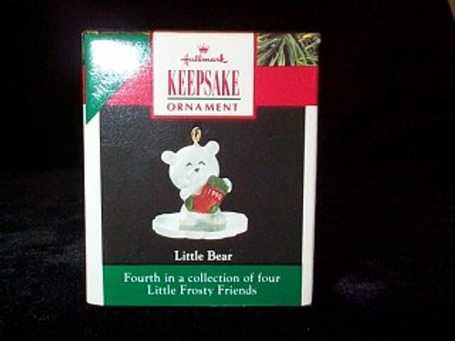 1990 Little Frosty Friends - Bear