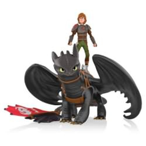 2014 How to Train Your Dragon - Hiccup and Toothless