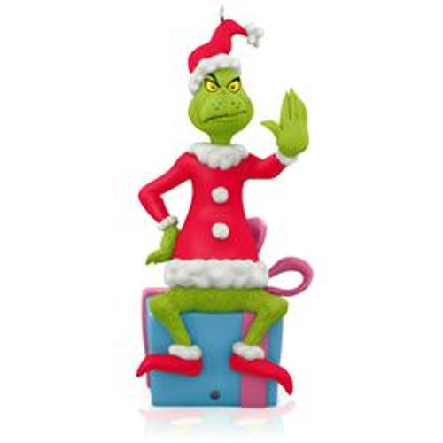 2015 Dr Seuss - Grinch Peekbuster