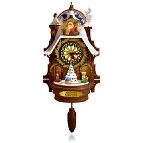 2015 Santa's Magic Cuckoo Clock