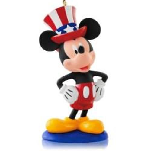 2014 Disney #12 - Yankee Doodle Mickey