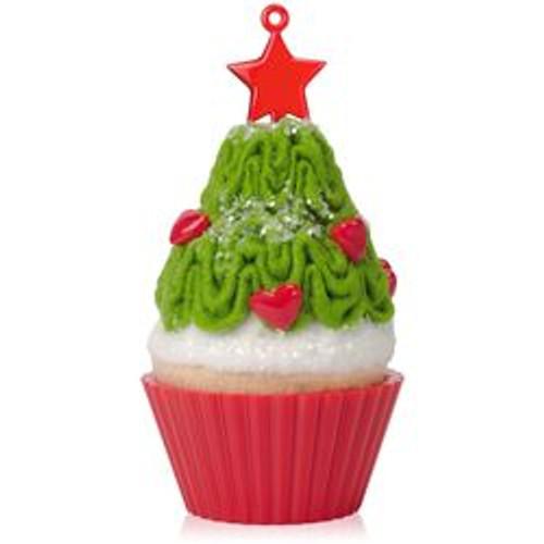 2015 Christmas Cupcakes #6 - Tasty Tannenbaum