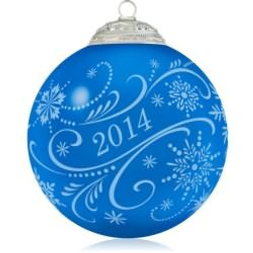 2014 Christmas Commemorative #2 - Blue
