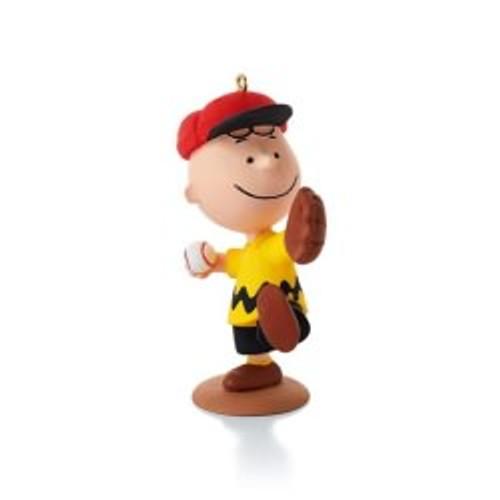 2014 Peanuts #11 - Charlie's Favorite Pastime