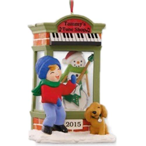 2015 Christmas Window #13 - Tune Shop - CLUB