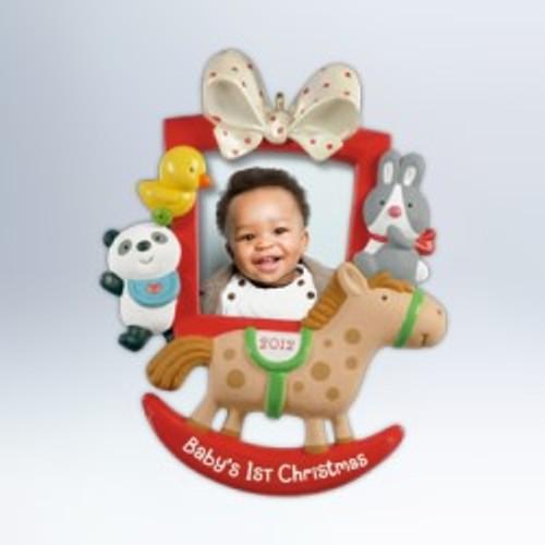 2012 Baby's 1st Christmas - Photo