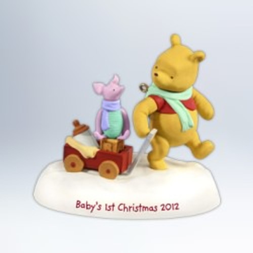 2012 Baby's 1st Christmas - Winnie The Pooh