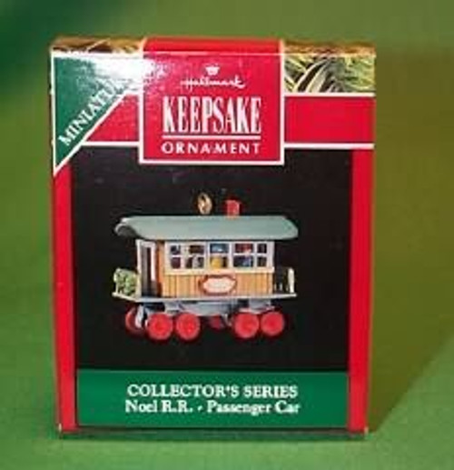 1991 Noel Railroad #3 - Passenger Car