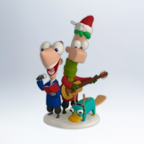 2012 Disney - Phineas and Ferb - Perry Christmas