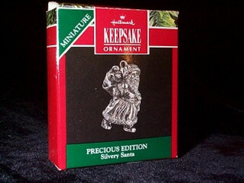 1991 Precious Edition #2 - Silver Santa