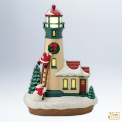2012 Holiday Lighthouse #1