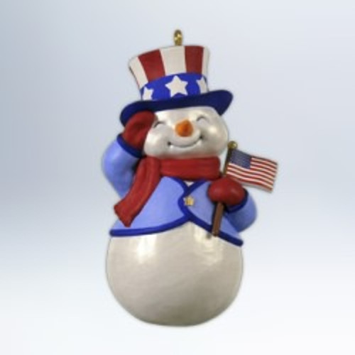 2012 Patriotic Snowman