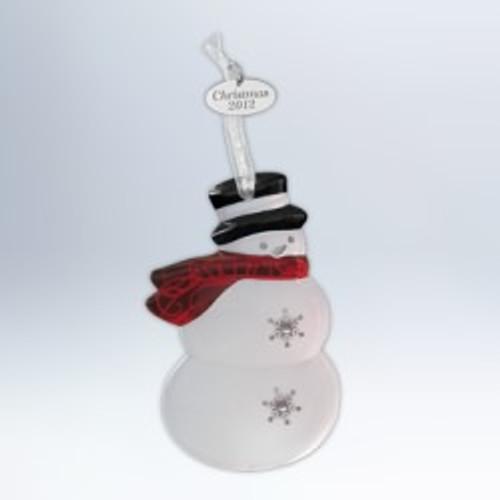 2012 Top Hat Snowman