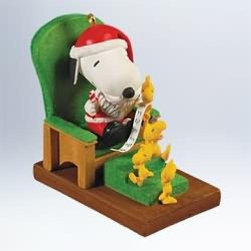 2011 Peanuts - Snoopy Claus