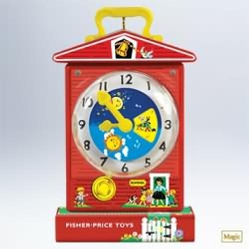 2011 Fisher Price - Music Box Teaching Clock