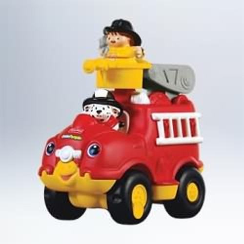 2011 Fisher Price - Little People Fire Truck